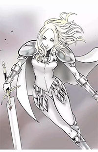 Claymore - The Warrior's Wedge (doujinshi)
