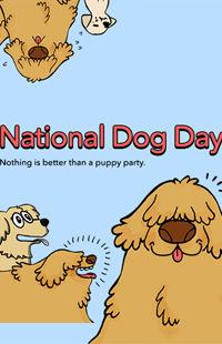 National Dog Day 2016