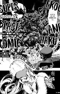 Frog and Haru's Super Beast Comic