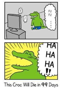 This Croc Will Die in 100 Days