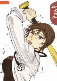 Batting Female Doctor Saori